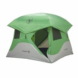 Gazelle 30400 T4 Pop-Up Portable Camping Hub Tent, Green, 4