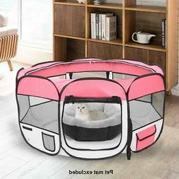 "36"" 600D Oxford Portable Pet Puppy Soft Tent Playpen Dog Cat"