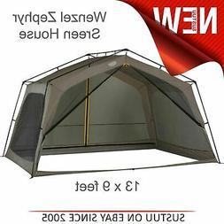Wenzel 36514 Zephyr Outdoor Screen House Tent 13x9 ft Sun Sh