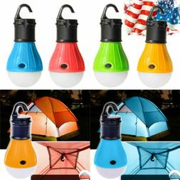 3LED Portable Camping Tent Lamp Emergency Hiking Outdoor Lig