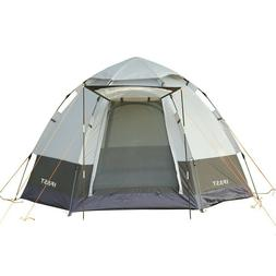 4-5 Person Camping Tent Pop Up with Rainfly Durable Waterpro