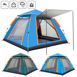 4-6 Person Instant Up Camping Tent UV Protection Waterproof
