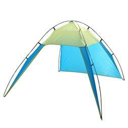 4-6 Person Portable Pop Up Beach Tent Triangle Sun Shade She