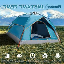 4-Person Automatic Instant Pop-Up Camping Tent Double Layer
