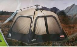 Coleman 6-Person Cabin Tent with Instant Setup for Camping S