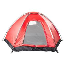 4 Person Family Large Camping Tent Easy Set-Up for Outdoor S
