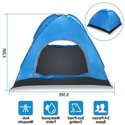 4 person instant pop up tent camping