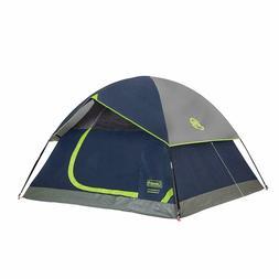 Coleman 4 Person Tent Sundome Easy Setup Camping Waterproof