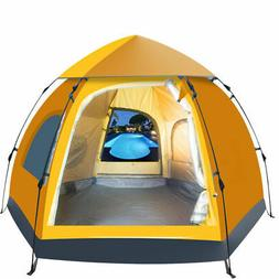 5-6 People Waterproof Automatic Outdoor Instant Pop Up Tent