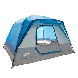 Toogh 5-6 Person Camping Tent Waterproof Backpacking Tents f