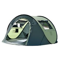 5-8 Person Instant Pop-Up Camping Tent Outdoor Family Hiking
