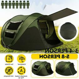 5-8 Person Tent Family Outdoor Portable Waterproof Camping S