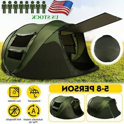 5 8 person waterproof tent automatic instant