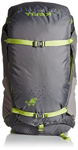 Kelty PK 50 Backpack, Grey/Citron, Medium/Large