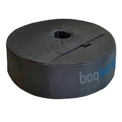 "Gravipod 18"" Round Umbrella Base Weight Bag - Up to 85#. Saf"