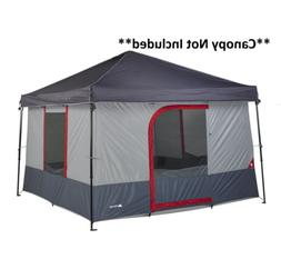 Ozark Trail 6-Person ConnecTent Canopy Tent, 1-room, Gray an