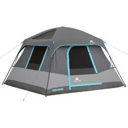 Ozark Trail 6 Person Dark Rest Cabin Tent 10' x 9' Portable
