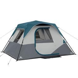 Ozark Trail 6-Person Instant Cabin Tent for Camping With LED