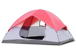 COSTWAY 6 Person Pop Up Easy Set-up Camping Tent Bag + FREE