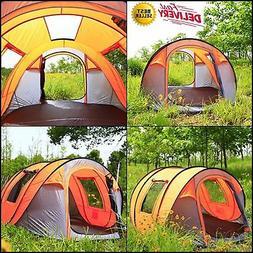 Bravindew Waterproof Tent X-Large Instant 5-6 Person Pop Up