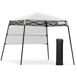 7 x 7 FT Sland Adjustable Portable Canopy Tent w/ Backpack-W