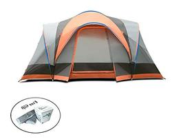 COSTWAY 8 Person Automatic Pop Up Hiking Tent Bag Easy Set-u