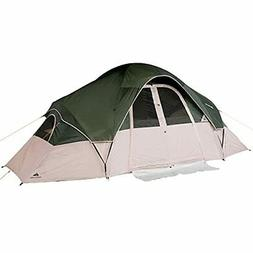 8 Person Ozark Trail Instant Cabin 2 Room Family Dome Tent C