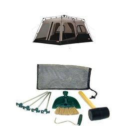 Coleman 8-Person Instant Tent  and Coleman Tent Kit