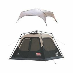 Coleman 8 x 7 Family Instant Cabin Camping Tent & Coleman Ra
