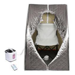 800W 2L Portable Home Steam Sauna Personal Spa Tent Detox Th