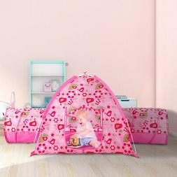 "Alvantor Tunnel Tent, 75.6"" x 44"" x 37"", Pink"