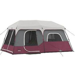 CORE 9 Person Instant Cabin Tent - 14' x 9' - Red