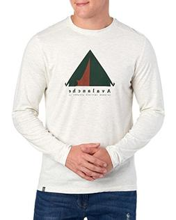 Avalanche Tent Graphic Crew Neck Tee X-Large Off White Heath