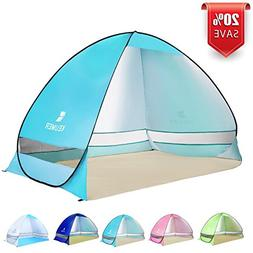 BATTOP Pop up Beach Tent Camping Sun Shelter Outdoor Automat