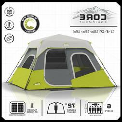 CORE Equipment 60-Second Instant 6-Person Cabin Tent Gray 11  sc 1 st  tentsi & CORE Tents | Tentsi