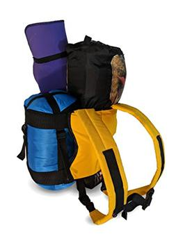Camping Backpack for Tents, Sleeping Bags and Mat Rolls