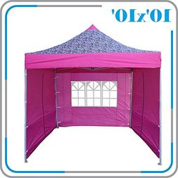 DELTA Canopies 10'x10' Ez Pop up Canopy Party Tent Instant G