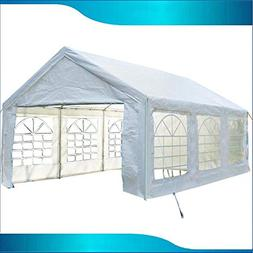 DELTA Canopies 20'x10' PE Party Tent  - Water Resistant Wedd
