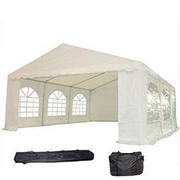 DELTA Canopies 20'x16' PE Party Tent - Heavy Duty Wedding Ca