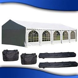 DELTA Canopies 32'x16' PVC Party Tent - Heavy Duty Wedding C