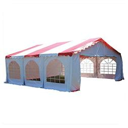 DELTA Canopies Budget PVC Party Tent Shelter Canopy 20'x20'