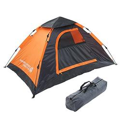 DOPPELGANGER OUTDOOR For 2 People One touch Tent  T2-29