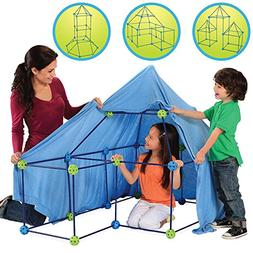 Discovery Kids - Construction Fort - Blue And Green