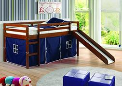 Donco Trading Tent For Low Loft, Blue