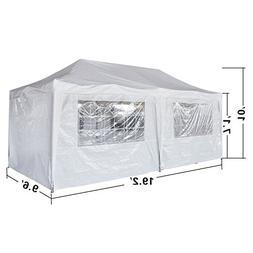 EZ POP UP Wedding Party Tent 10'X20' Folding Gazebo Beach Ca