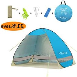 G4Free Outdoor Automatic Pop up Instant Portable Cabana Beac