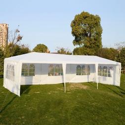 Goplus Outdoor 10' X 30' Canopy Party Wedding Tent Heavy Dut