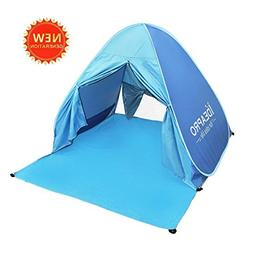 ideapro 3-4 Person Easy Pop Up Tent, UPF 50+ Lightweight Wat