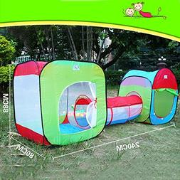 Roadacc  Two Cubby One Tunnel 3 in 1 Children's Playground.