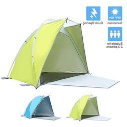 Star Home Lightweight Sun Shelter Easy Up Cabana Beach Tent